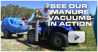 Click here to see our manure vacuums in action